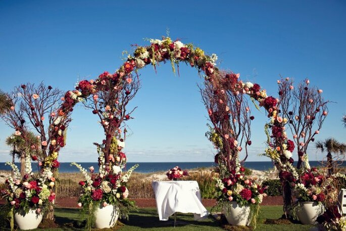 Los altares de boda más lindos para la ceremonia religiosa - La Dolce Vita Studio