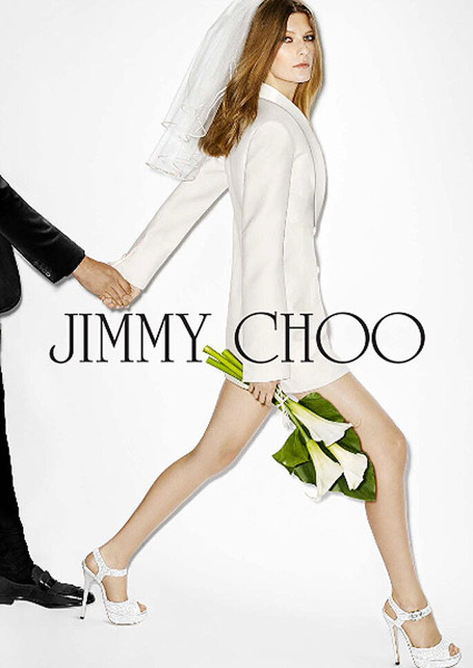 Jimmy Choo, colección novia 2013. Foto: Jimmy Choo