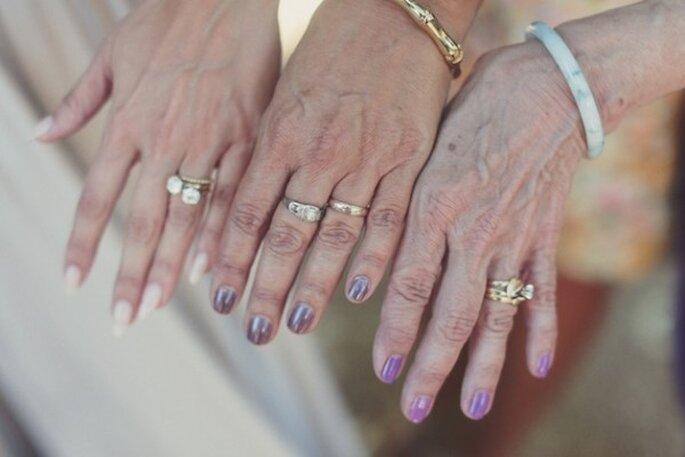 Las fotos obligadas de la novia con su mamá - Foto Traci Griffin Photography