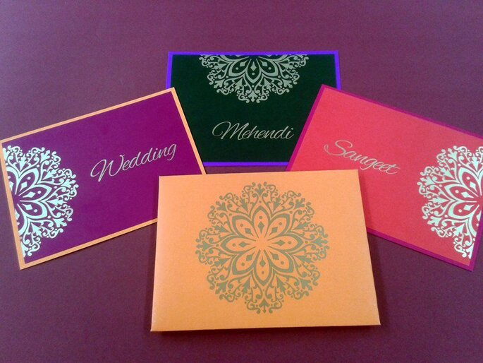 Classic Designer Wedding Cards & Stationary.