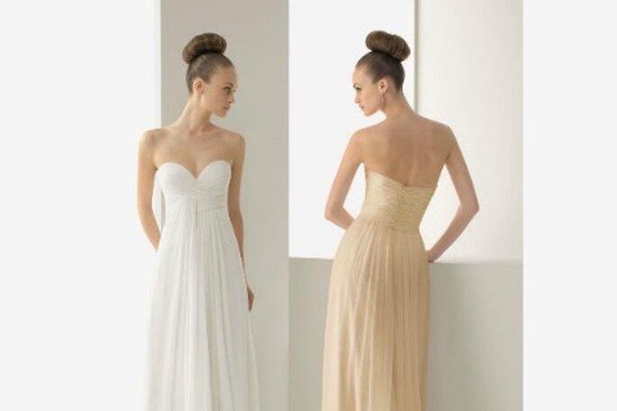 Peinado de novia clásico recogido - Foto: Pronovias