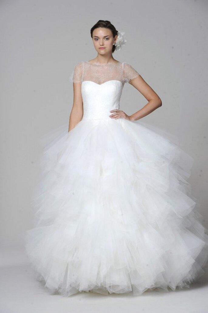 Vestido de novia Marchesa 2013