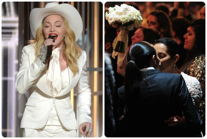Madonna ai Grammy Awards 2014