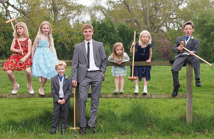 Des enfants à un mariage? Photo: Farrukh
