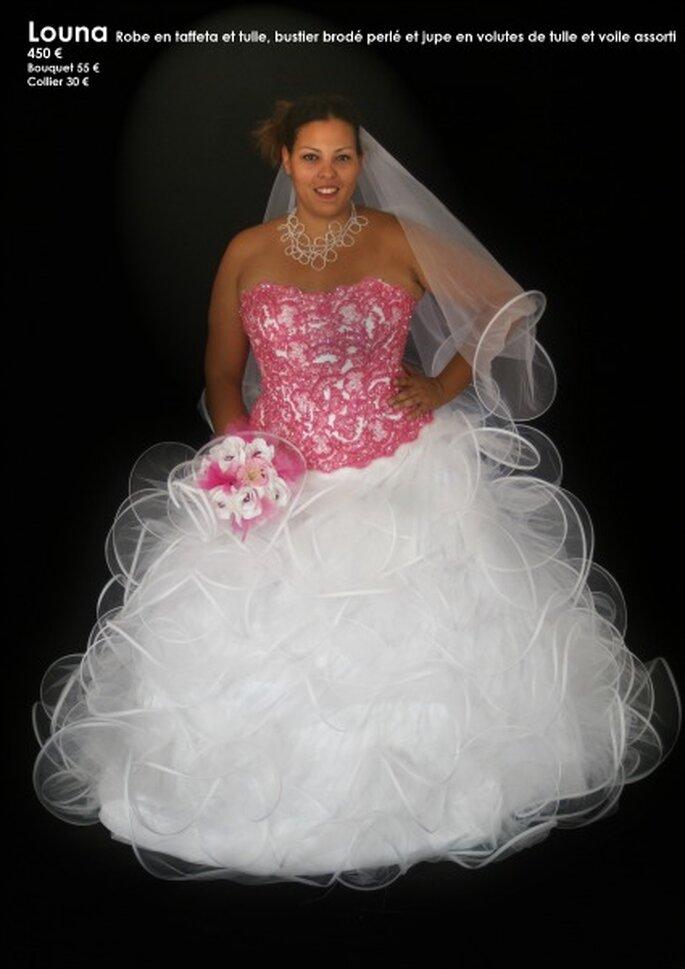Au coeur d'un rêve : des robes de mariée personnalisables à un prix unique - Source : Au coeur d'un rêve, modèle Louna
