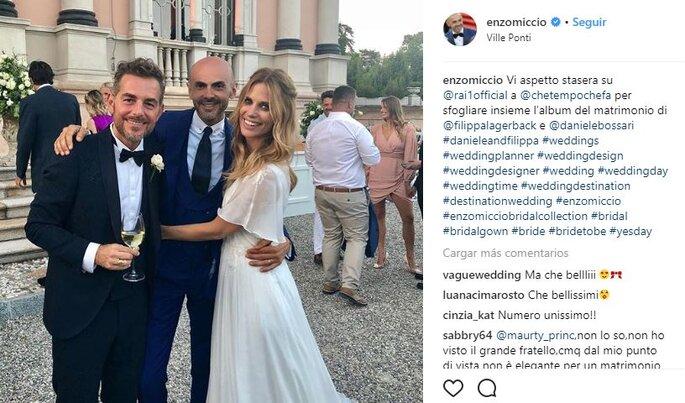 Foto via Enzo Miccio Instagram