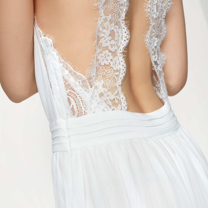 Photo : Robe de mariée Flore Blanc - KIABI