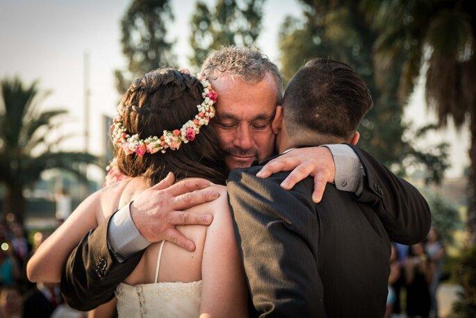 Emoção durante casamento - Foto: Valentina Reyes