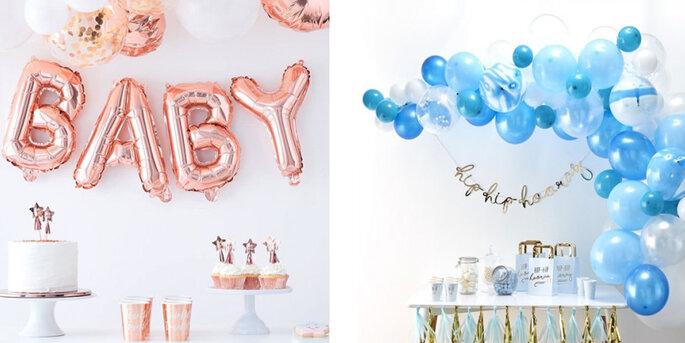 Guirnalda de globos de bebé