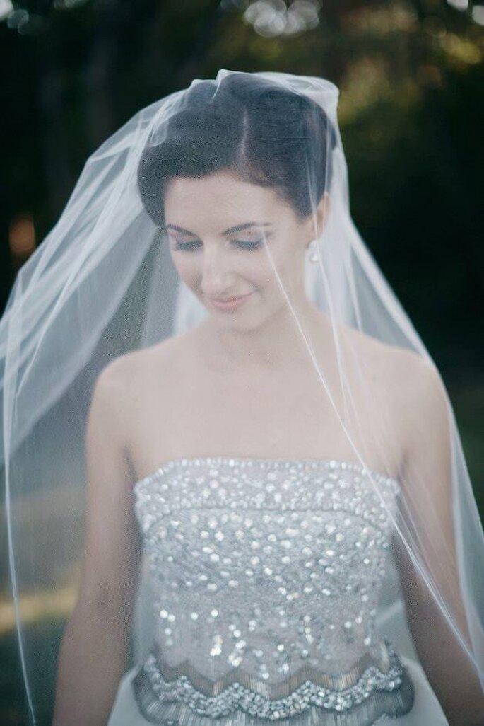 Un maquillaje natural te ayudará a lucir espectacular con tu velo de novia - Foto Sox Teng Makeup