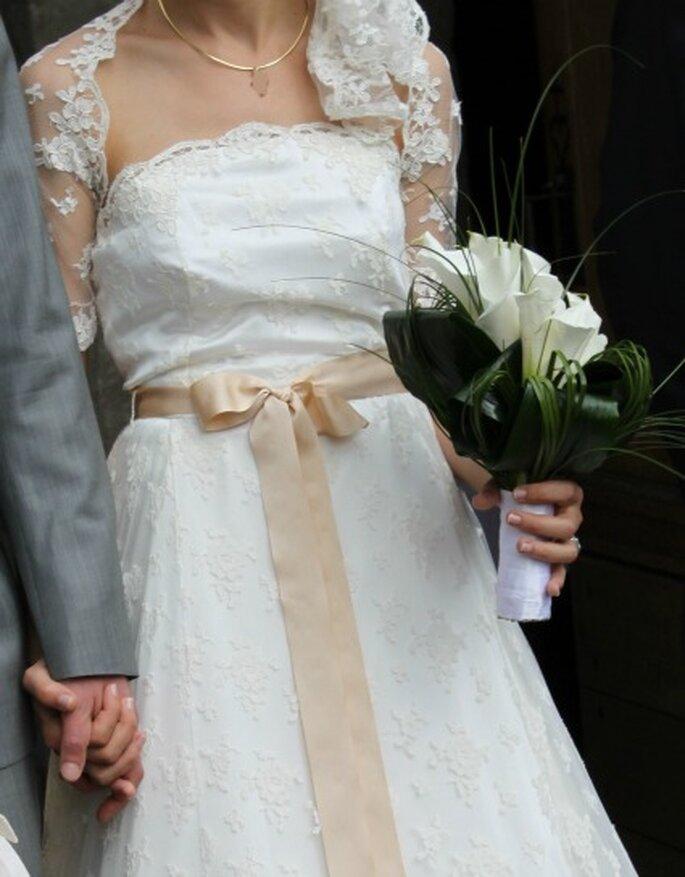 Pour votre robe de mariée, laissez libre cours à vos envies - Photo : Pascale de Lavernette