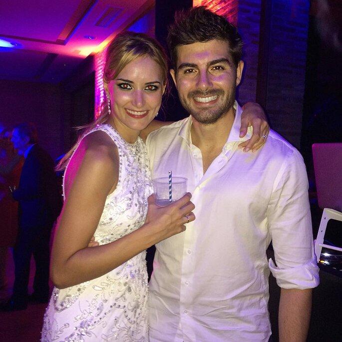 Alba Carrillo y Fran Guzmán.