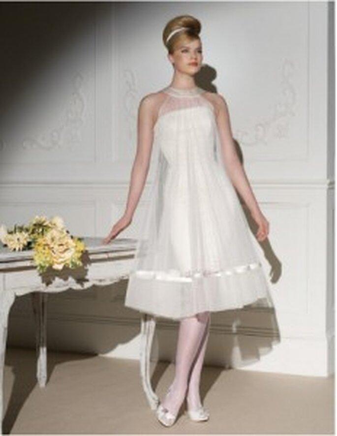 Novia D'Art Kollektion 2011: Kurzes Brautkleid Trend 2011