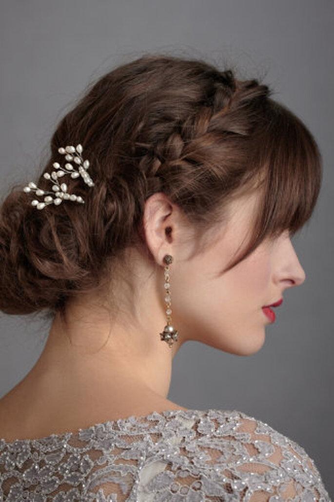 Brautfrisuren Seitlich Gesteckt Brautfrisuren Trends 2013