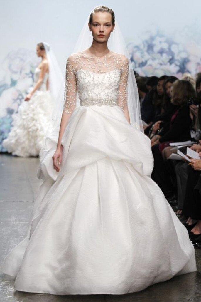 Vestido de novia de Monique Lhuillier - Otoño 2012