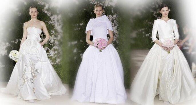 Brautkleider von Carolina Herrera Kollektion 2012