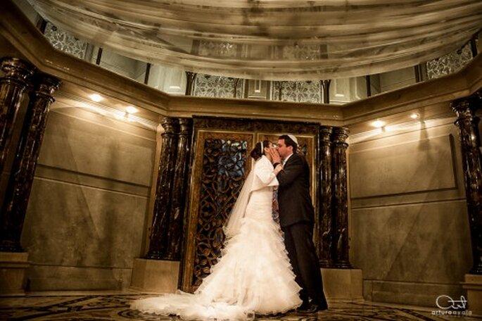 Inspírate en la fotografía artística para tener una boda única - Foto Arturo Ayala