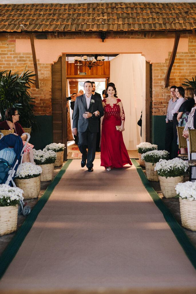 entrada cerimonia