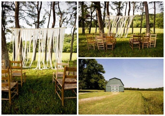 Organizar mi boda en jardín de un rancho