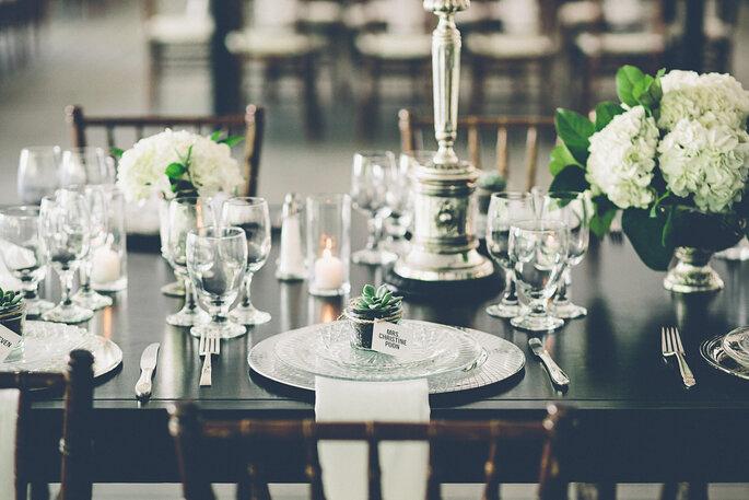 mesas para boda 2016 - Gina & Ryan Photography