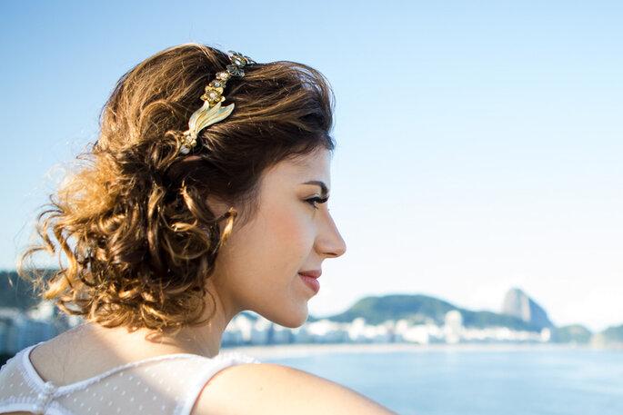 penteado casamento na praia