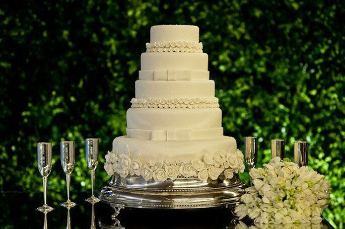 Como escolher o bolo do meu casamento em 5 passos