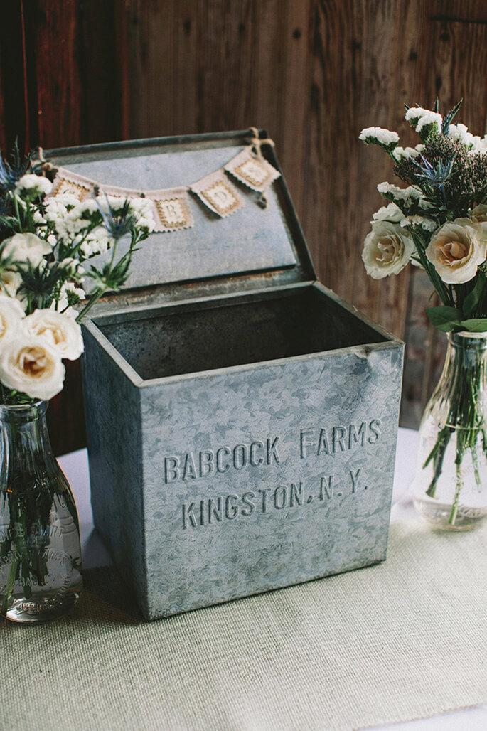 Detalles en color gris para tu boda - Foto de Lev Kuperman