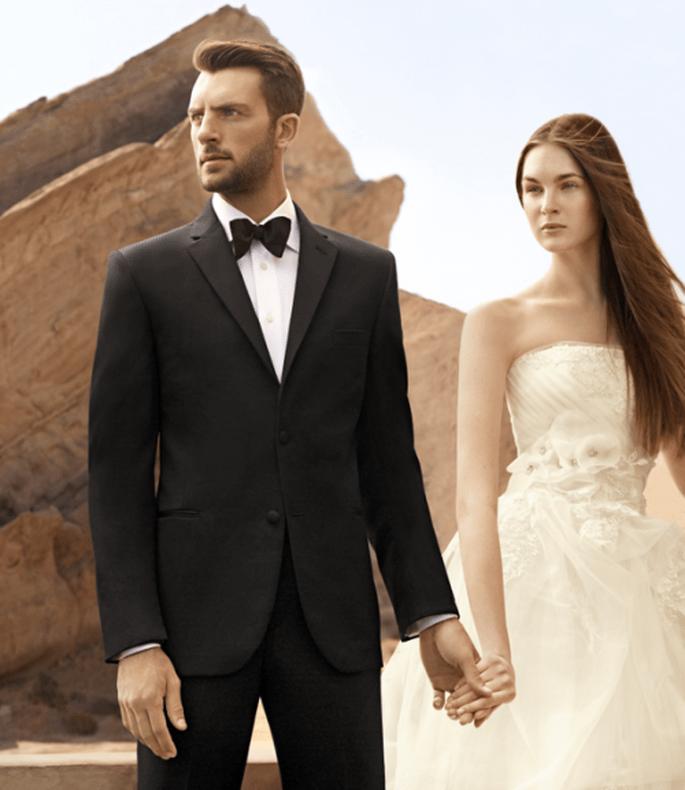Tips de estilo para elegir el esmoquin de novio -  Foto Men`s Wearhouse