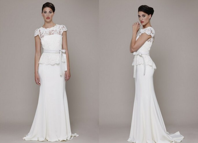Vestido de novia Fiorella de Elizabeth Stuart 2014. Fotos: www.elizabeth-stuart.com