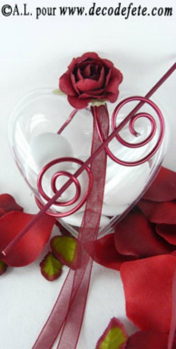 Pour vos dragées de mariage, misez sur des contenants originaux - Photo : decodefete.com