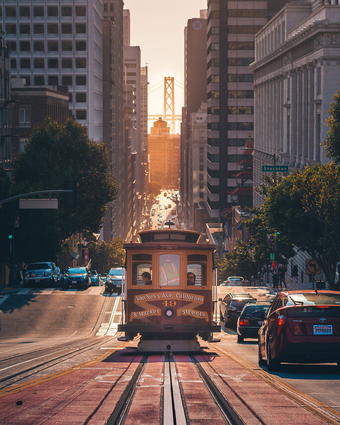 Cable Car, San Francisco, United States