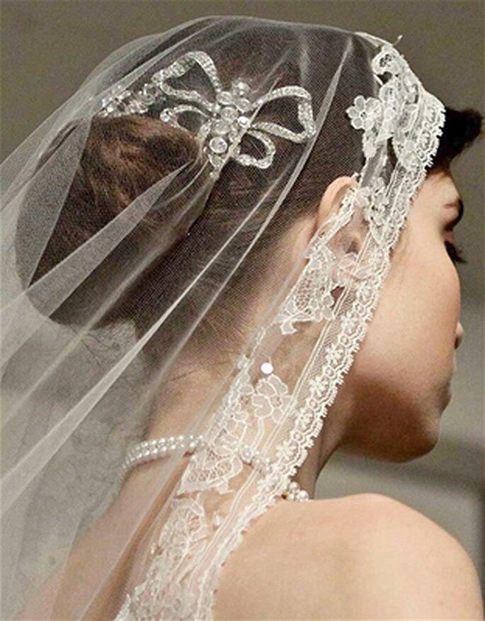 Voile de mariée Oscar de la Renta 2014