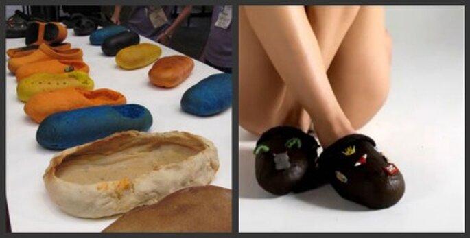Modelos para la fabricación del calzado comestible