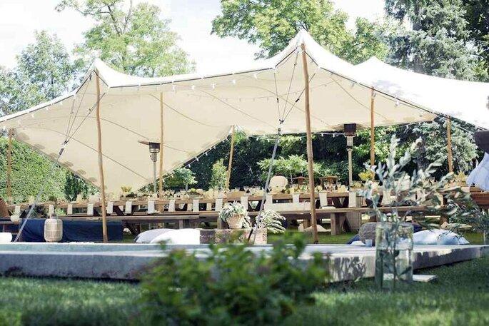 Organic-Concept - Location de tentes mariage - Alpes-Maritimes