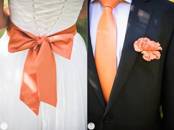 goździki na ślubie