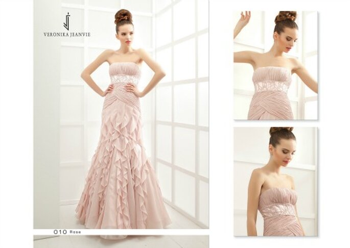 Les robes de cocktail Veronika Jeanvie soulignent la beauté et la féminité de chaque femme