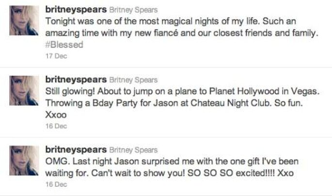 Le compte Twitter de Britney Spears