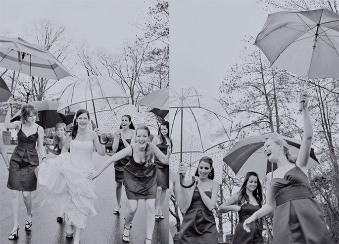 Tips para que tus fotos de boda bajo la lluvia queden muy lindas - Braedon Flynn Photography