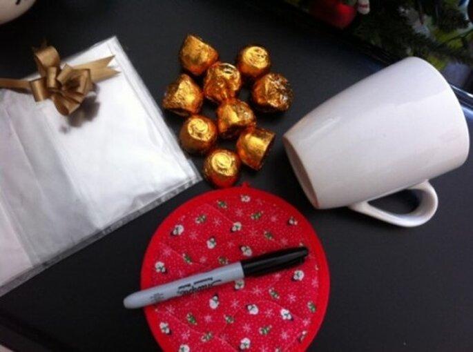 DIY de Noel: un cadeau parfait pour vos invités de mariage