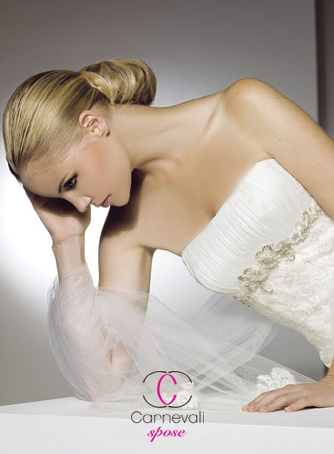 Modello Ambra ©Carnevali Spose