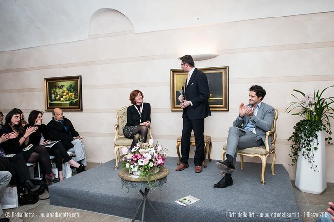 La conferenza conclusiva, tenutasi lo scorso anno durante la prima edizione de L'Orto delle Arti