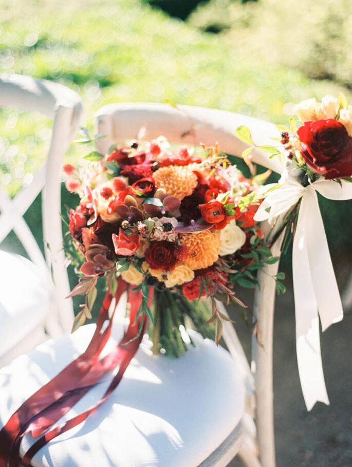 Herbstliche Brautsträusse für Ihre Hochzeit