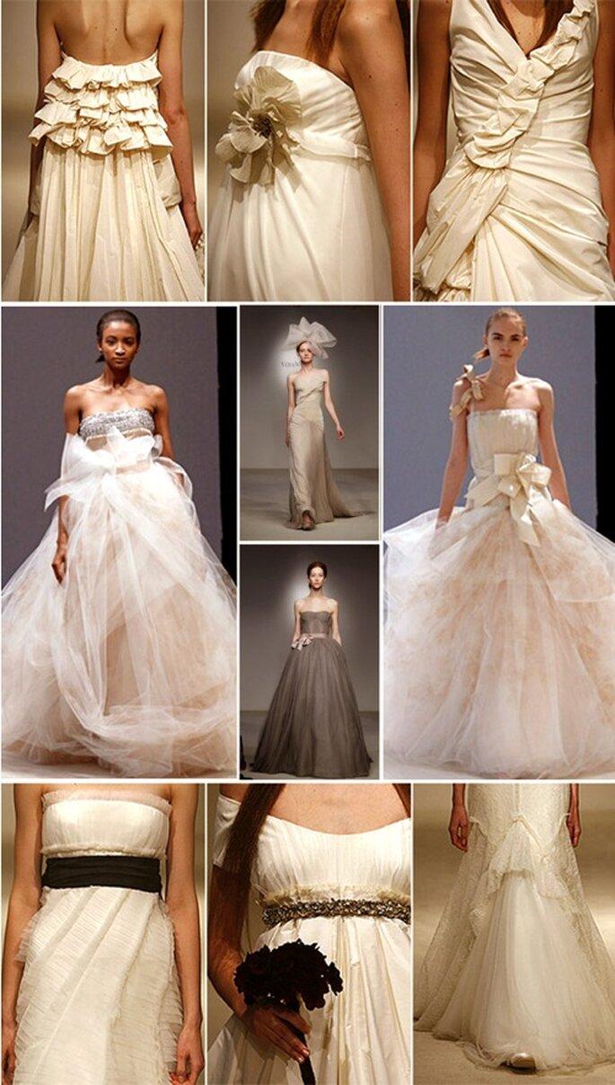 Kleider und hübsche Details aus der Vera Wang Kollektion 2012