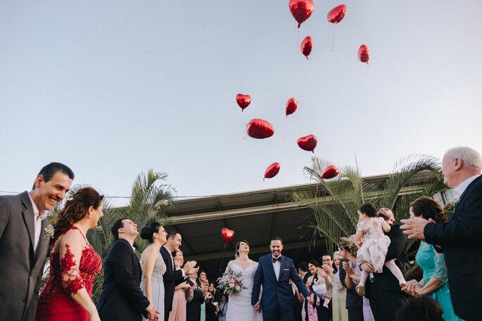 final da cerimonia casamento
