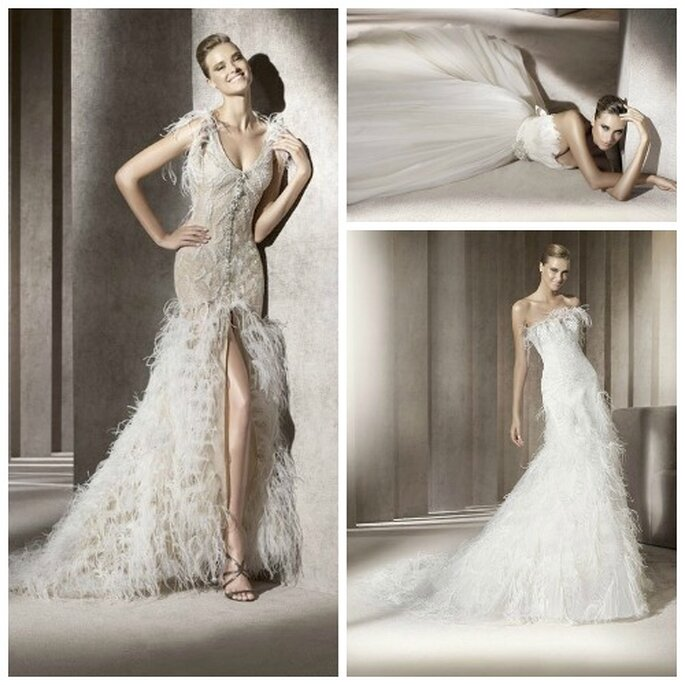 Collection Pronovias 2012. Photo: Pronovias