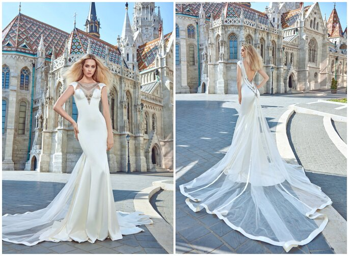 Image: Galia Lahav Ivory Tower Haute Couture Collection, dress 1602 Juliana