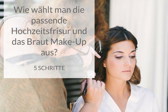 Brautfrisur Und Make Up Wie Man Sich Als Braut Richtig Stylt