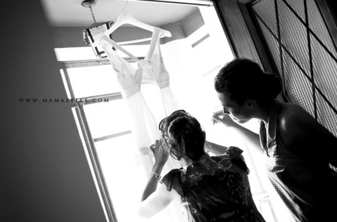 Cómo elegir el vestido de novia. Foto: Mamazelle