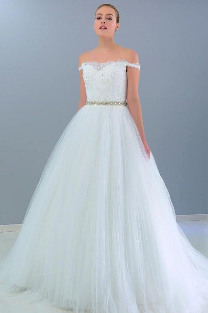 Vestidos de novia esponjados 2019