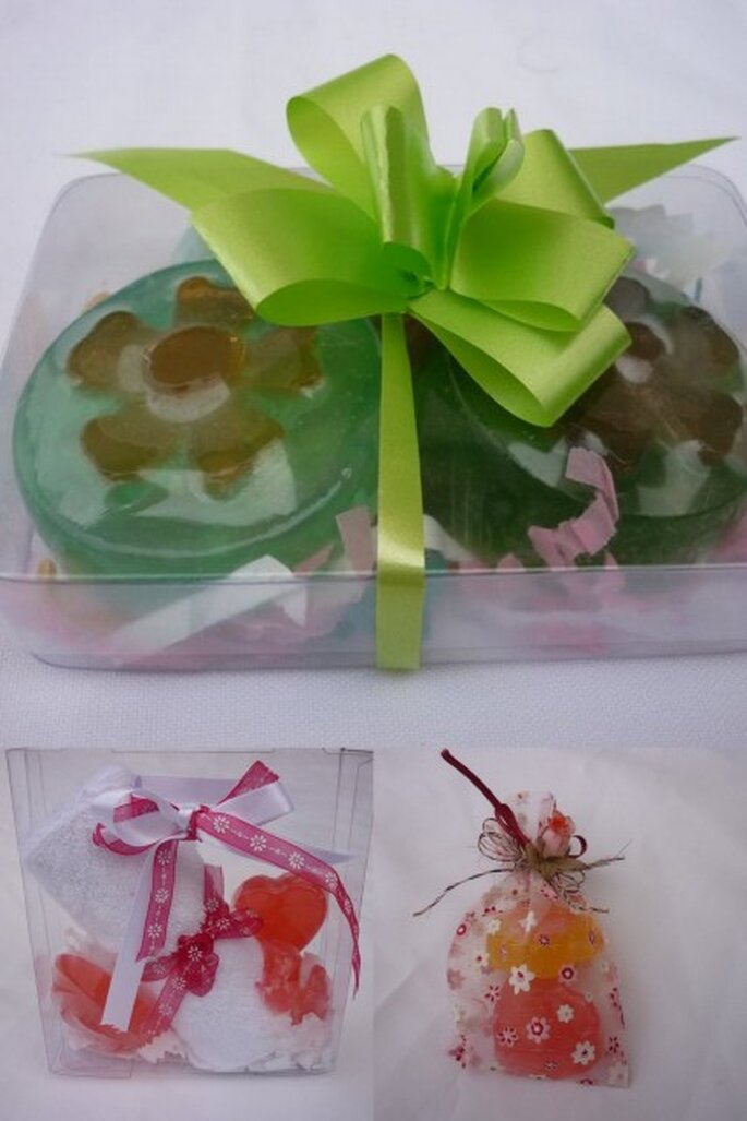 Kit personalizable de jabones orgánicos de Lotos Blume Jabones Artesanales